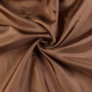 Вискоза-ацетат коричневая, ш.140