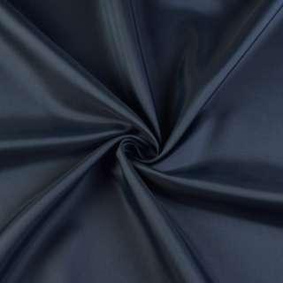 Вискоза-ацетат синяя темная, ш.140