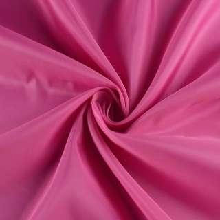 Полиэстер подкладочный розовый яркий, ш.152