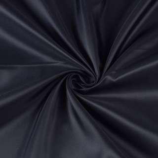 Полиэстер подкладочный синий темный, ш.150