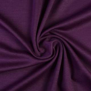 Трикотаж французький костюмний фиолетовый ш.150