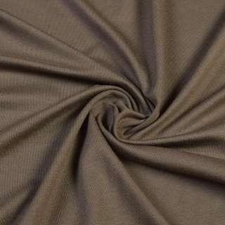 Трикотаж вискозный стрейч коричневый светлый, ш.170