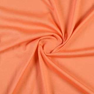 Трикотаж хлопковый оранжевый, ш.150