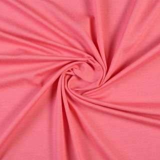 Трикотаж хлопковый розовый темный, ш.154