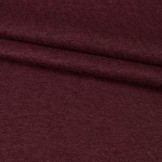 """Трикотаж костюмный шерстяной """"Kochwolle uni"""" темно-вишневый ш.145"""
