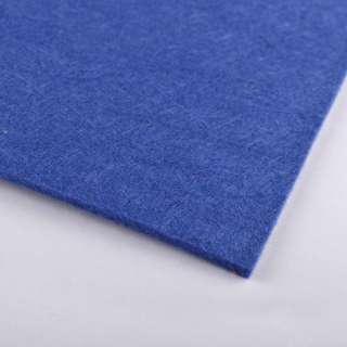 Фетр (для рукоделия) синий (2мм) ш.100