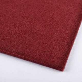 Фетр (для рукоделия) бордовый (2мм) ш.100