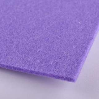 Фетр (для рукоделия) бледно-фиолетовый (3мм) ш.100