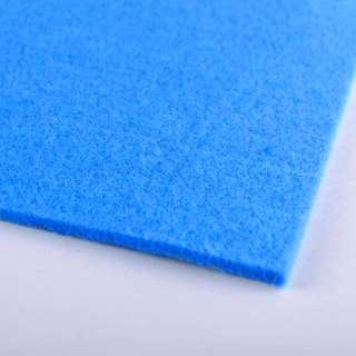 Фетр (для рукоделия) сине-голубой (3мм) ш.100