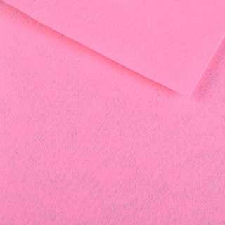 Фетр (для рукоделия) розовый (0,9мм) ш.85