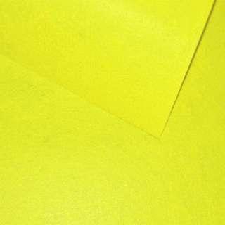 Фетр (для рукоделия) лимонный (0,9мм) ш.85