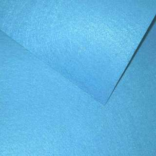 войлок (для рукоделия) голубой яркий (0,9мм) ш.85