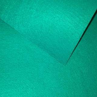 Фетр (для рукоделия) бирюзовый (0,9мм) ш.85