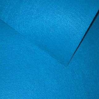 Фетр (для рукоделия) синий яркий (0,9мм) ш.85