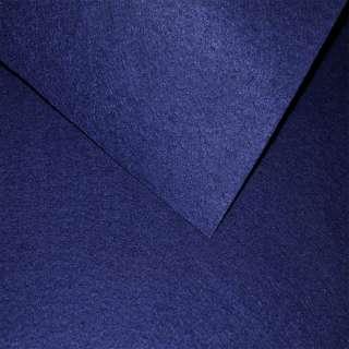 Фетр (для рукоделия) синий темный (0,9мм) ш.85