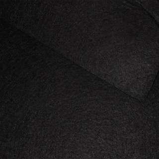 Фетр (для рукоделия) черный (0,9мм) ш.85