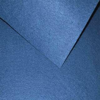 Фетр (для рукоделия) синий кобальтовый(0,9мм) ш.85