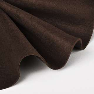 Фетр (для рукоделия) мягкий коричневый (1,6мм) ш.140