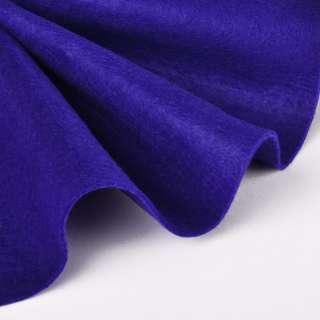 Фетр (для рукоделия) мягкий ультрамарин (2мм), ш.85