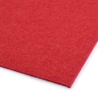 войлок (для рукоделия) красный (2мм) ш.100