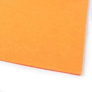 Фетр (для рукоделия) оранжевый (2мм) ш.100
