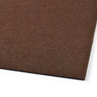 Фетр (для рукоделия) шоколадный (2мм) ш.100