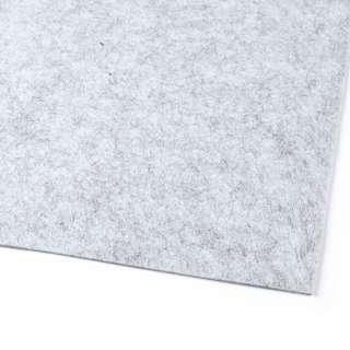 Фетр (для рукоделия) серый светлый меланж (2мм) ш.100