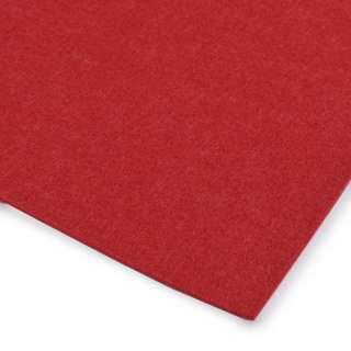 Фетр (для рукоделия) красный (3мм) ш.100