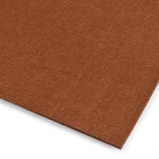 Фетр (для рукоделия) коричневый (3мм) ш.100