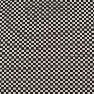Деко-коттон черно-белая шахматка 6мм, ш.150