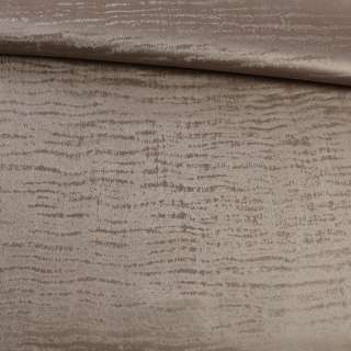 Кожа искусственная муаровая песочно-серая ш.140