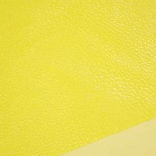 кожа искуств. универсальная на флисе желтая ш.143