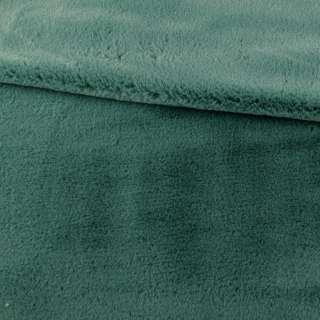 Мех искусственный кролик ворс 1см зеленый ш.170