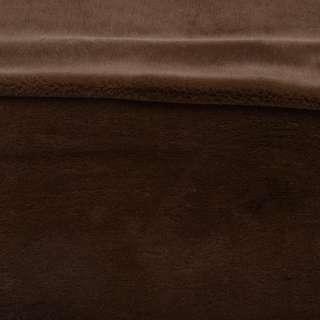 Мех кролик коричневый золотистый ш.160
