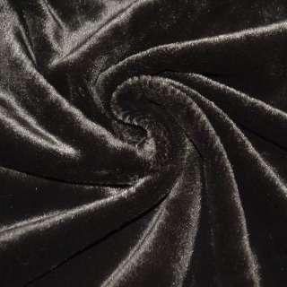 Мех искусственный темно-коричневый