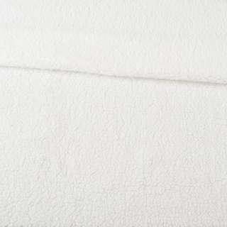 Мех искусственный овчина тонкий белый ш.175