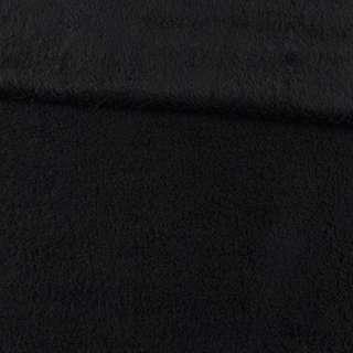 Мех искусственный овчина тонкий черный ш.175
