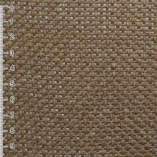 Рогожка из целлюлозы на флизелине коричневая, ш.150