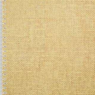Рогожка из целлюлозы на флизелине желтая светлая, ш.150