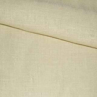 Рогожка джутовая на флизелине молочная, ш.150