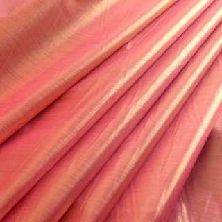 Парча малиново-золотистая гладкая ш.150