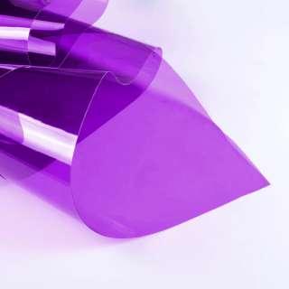 Силикон (0,3мм) фиолетовый прозрачный ш.122