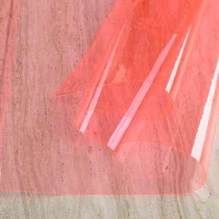 Силикон (0,2мм) розовый светлый неон прозрачный ш.122