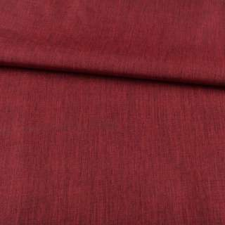 ПВХ ткань оксфорд лен 300D красный темный, ш.150