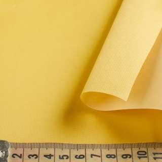 Ткань тентовая ПВХ 420D желтая ш.150