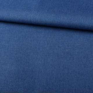 ПВХ ткань оксфорд лен 300D синий ш.150