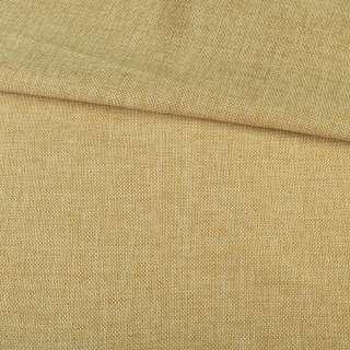 Рогожка деко песочная меланж, ш.150