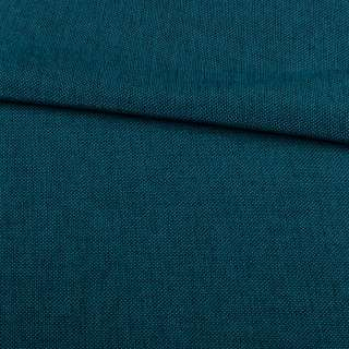 Рогожка деко синяя меланж, ш.150