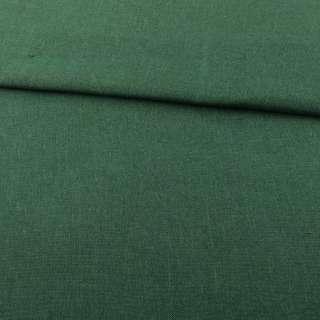 Рогожка деко зеленая темная ш.150