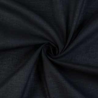 ситец черный однотонный, ш.80